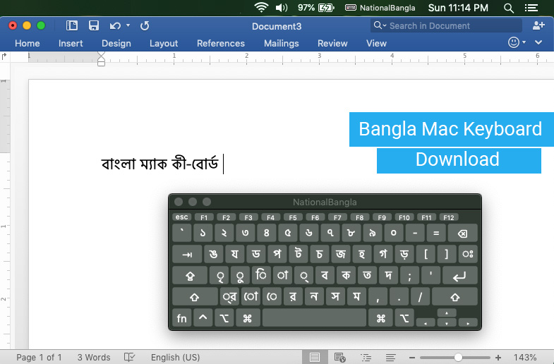 Bangla Mac Keyboard Download
